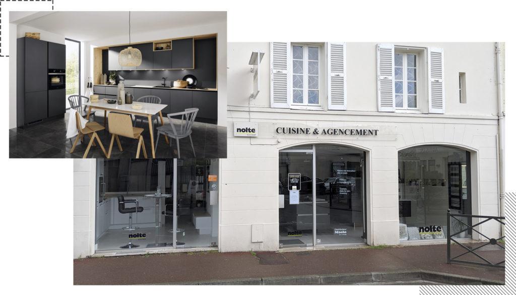 Photo cuisine Titan et magasin Contact